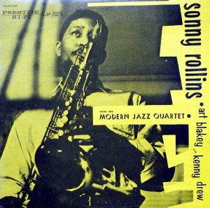 SONNY ROLLINS - Sorry Rollins With The Modern Jazz Quartet cover