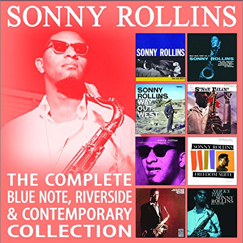 SONNY ROLLINS - The Complete Blue Note, Riverside & Contemporary Collections cover