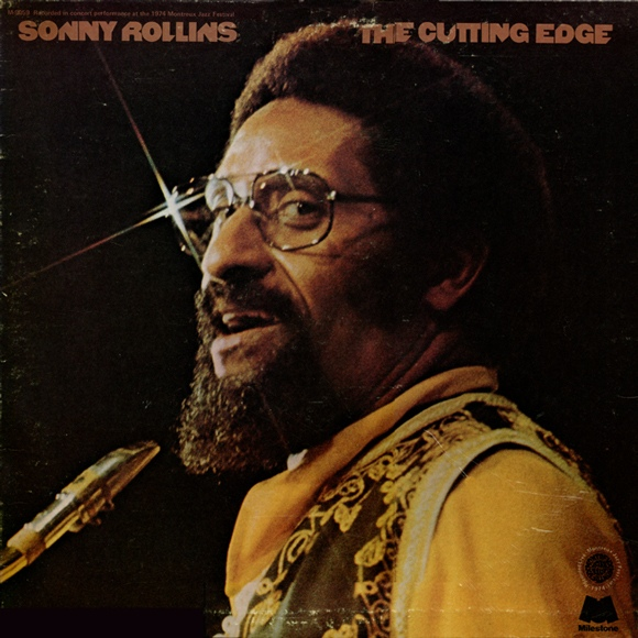 SONNY ROLLINS - The Cutting Edge cover