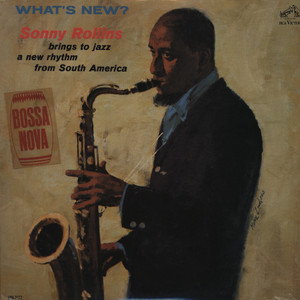 SONNY ROLLINS - What's New? (aka Pure Gold Jazz) cover