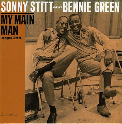 SONNY STITT - My Main Man cover