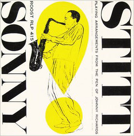 SONNY STITT - Playing Arrangements From the Pen of Johnny Richards cover