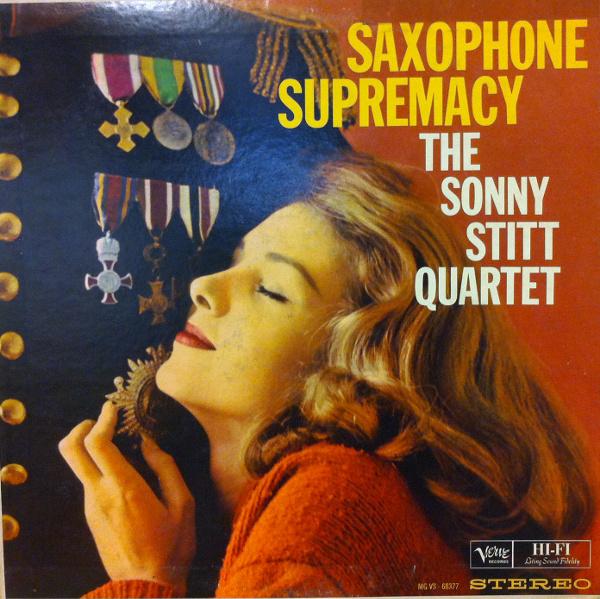 SONNY STITT - Saxophone Supremacy cover