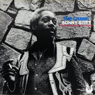 SONNY STITT - The Champ cover