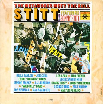 SONNY STITT - The Matadores Meet The Bull (aka Sonny) cover