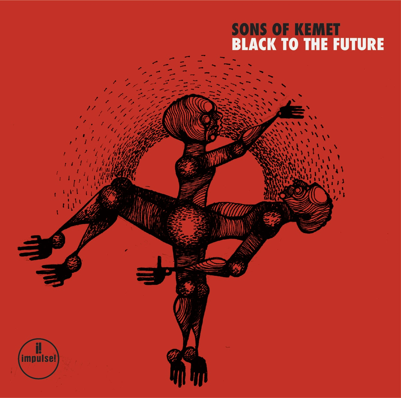 SONS OF KEMET - Black To The Future cover