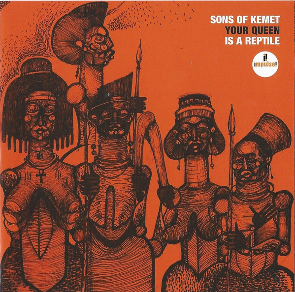SONS OF KEMET - Your Queen Is A Reptile cover