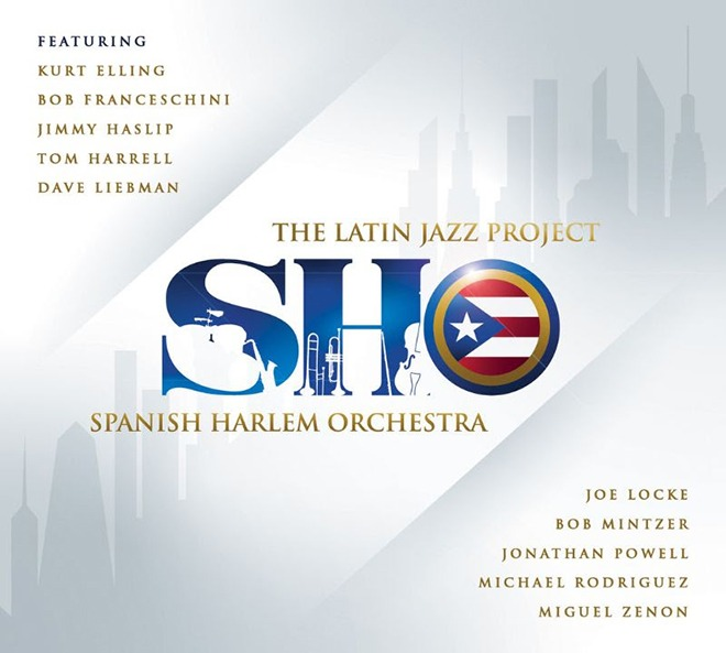SPANISH HARLEM ORCHESTRA - The Latin Jazz Project cover