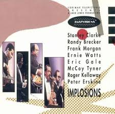 STANLEY CLARKE - Implosions cover