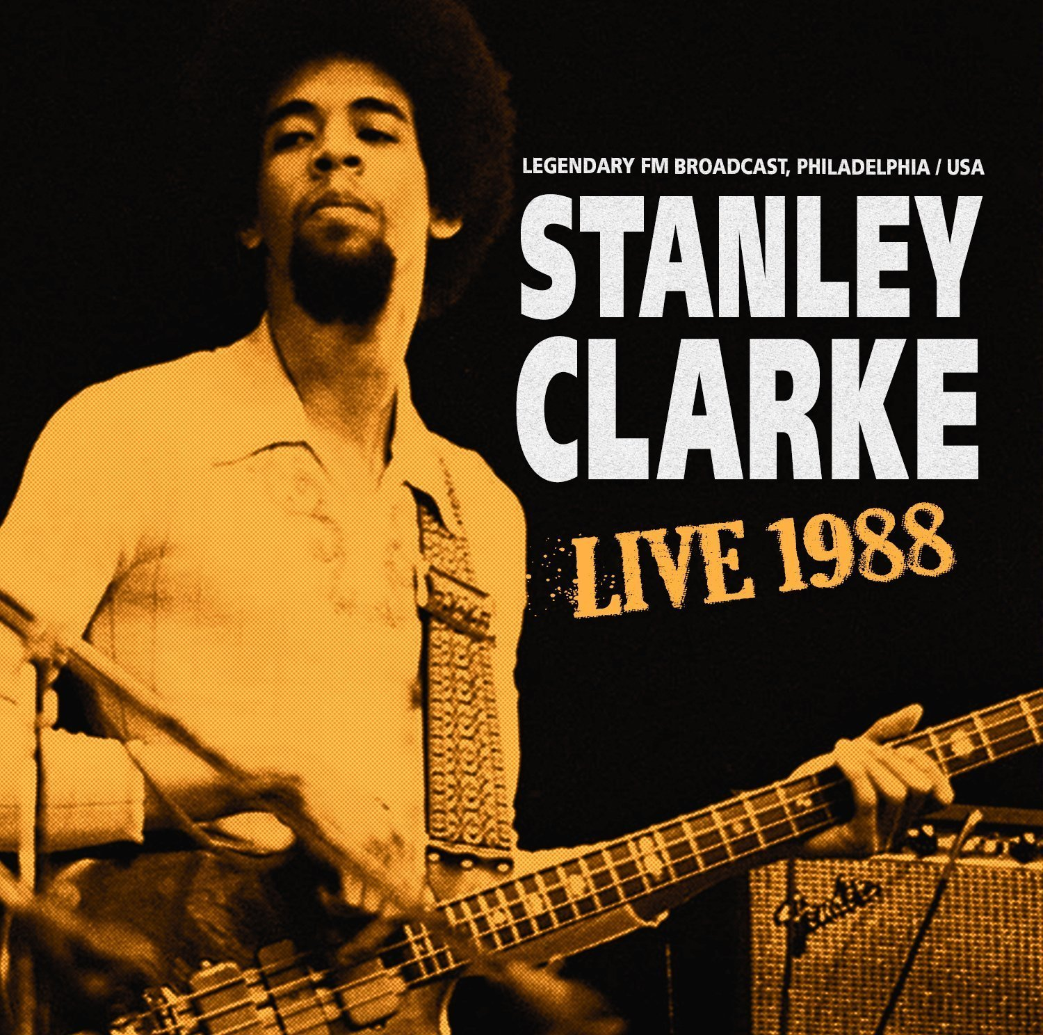 STANLEY CLARKE - Live 1988 cover