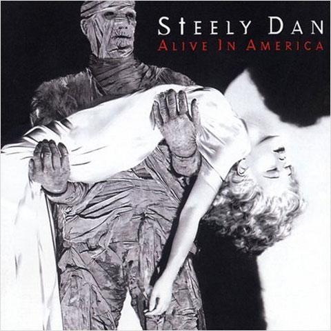 STEELY DAN - Alive in America cover