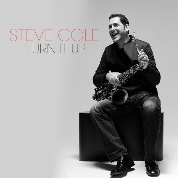 STEVE COLE - Turn It Up cover