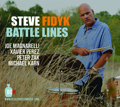 STEVE FIDYK - Battle Lines cover
