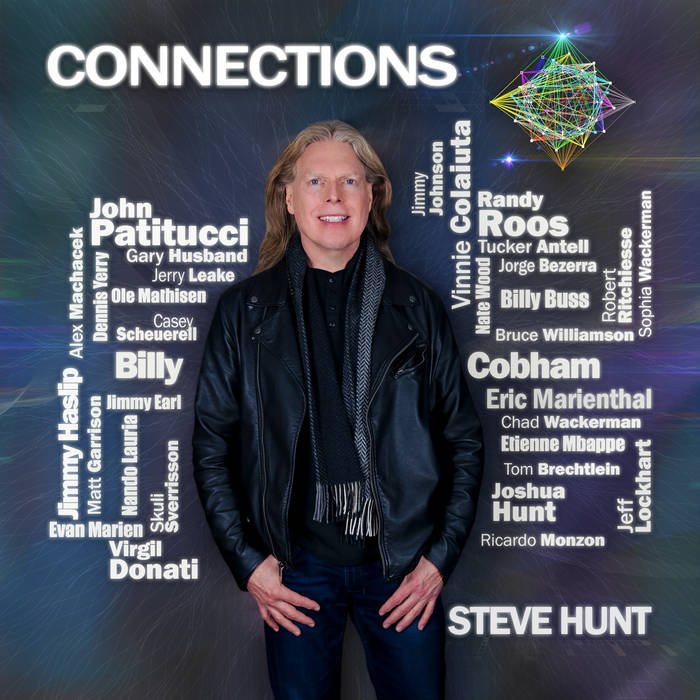 STEVE HUNT - Connections cover