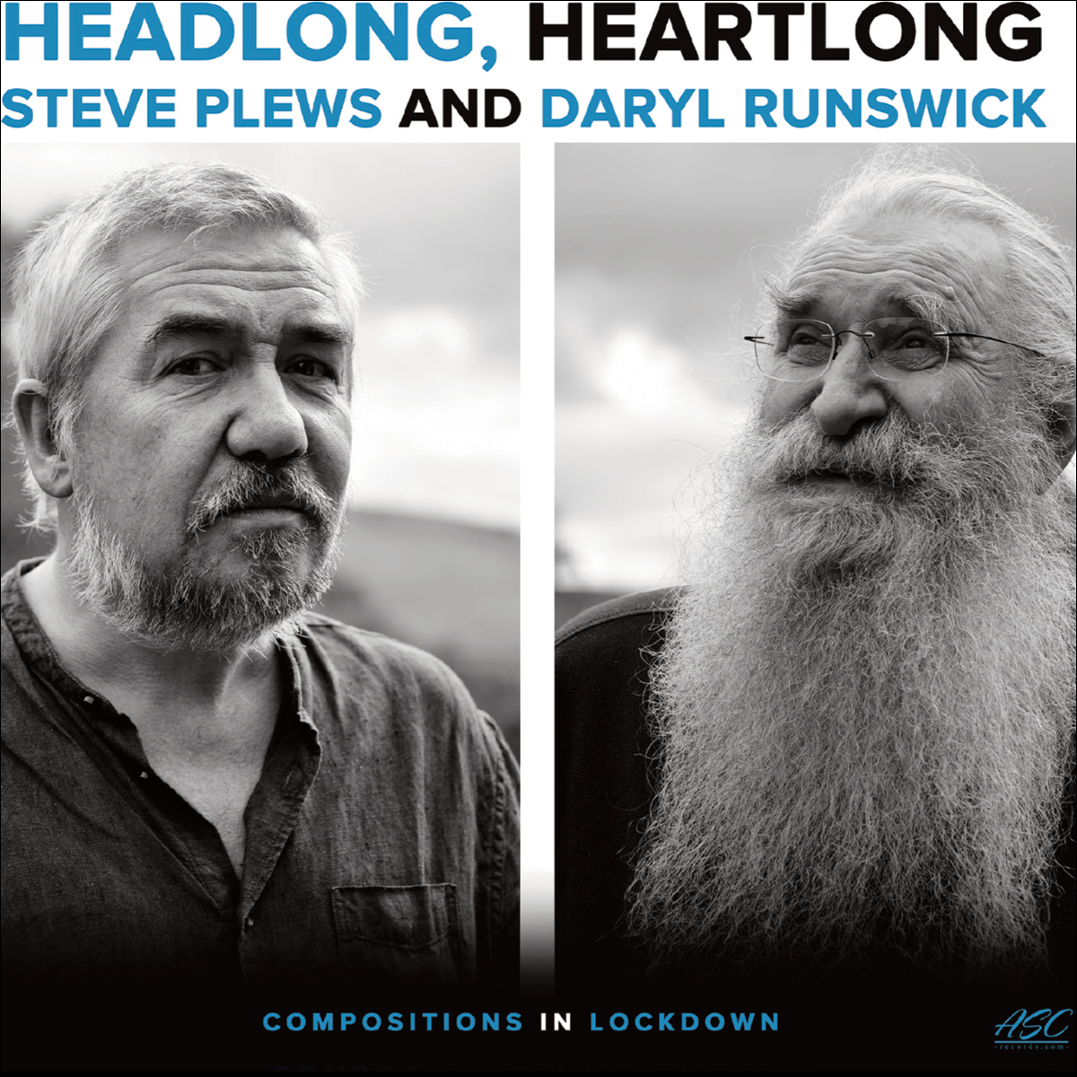 STEVE PLEWS - Steve Plews / Daryl Runswick : Headlong / Heartlong cover