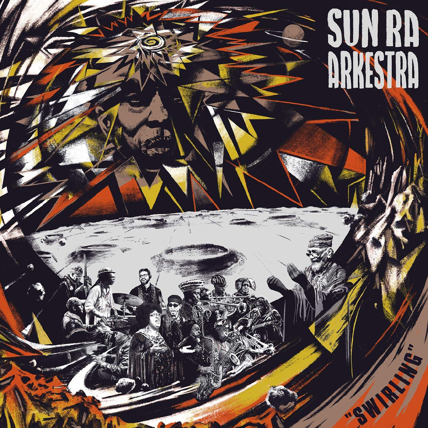 SUN RA ARKESTRA UNDER THE DIRECTION OF MARSHALL ALLEN - Swirling cover