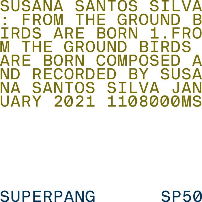 SUSANA SANTOS SILVA - From The Ground Birds Are Born cover