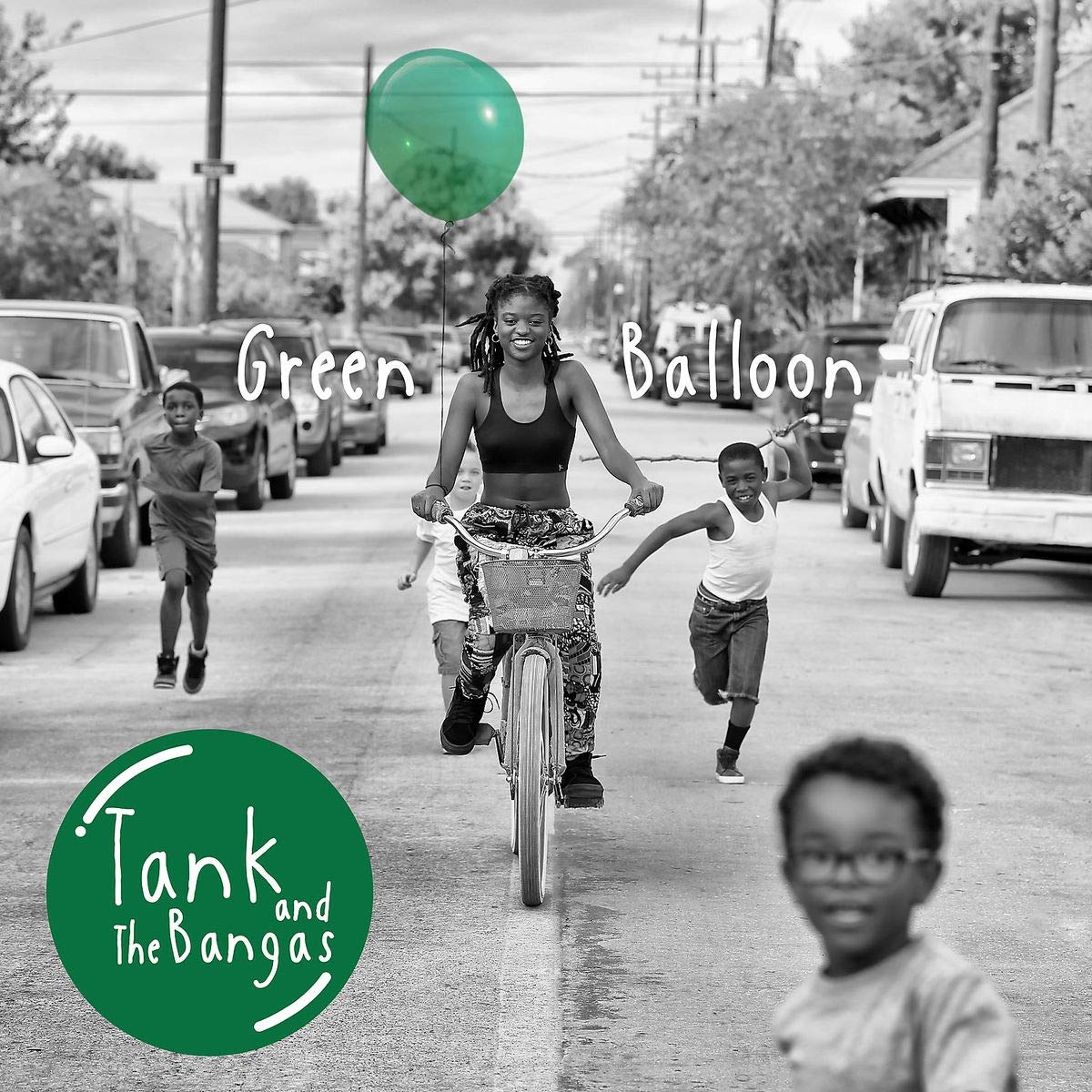 TANK AND THE BANGAS - Green Balloon cover