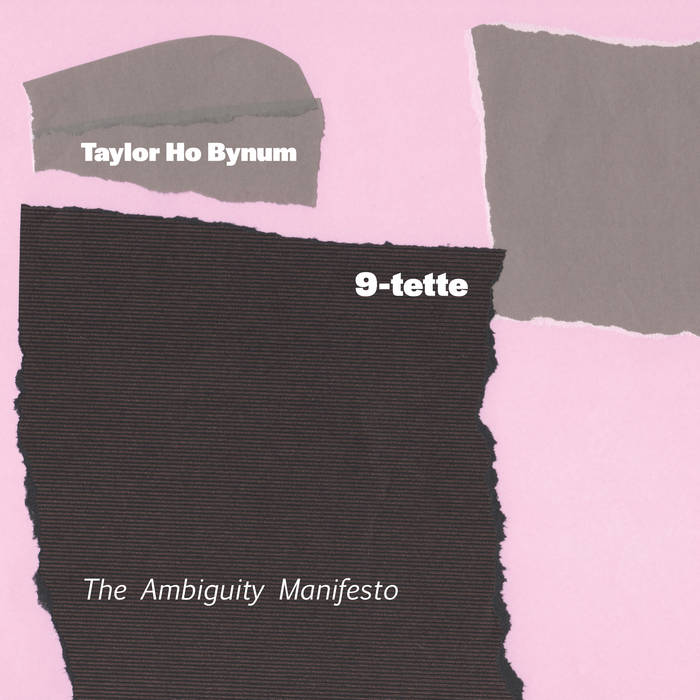 TAYLOR HO BYNUM - Taylor Ho Bynum 9-tette : The Ambiguity Manifesto cover