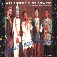 THE ART ENSEMBLE OF CHICAGO - America - South Africa cover