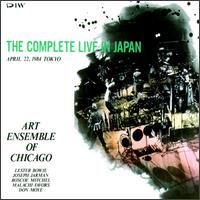 THE ART ENSEMBLE OF CHICAGO - The Complete Live in Japan '84 cover