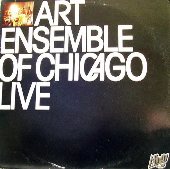 THE ART ENSEMBLE OF CHICAGO - Live (aka Live In Paris - Actuel 5 & 10) cover