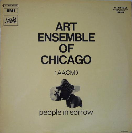 THE ART ENSEMBLE OF CHICAGO - People in Sorrow cover
