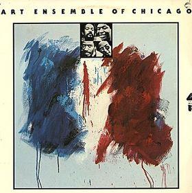 THE ART ENSEMBLE OF CHICAGO - The Paris Session cover