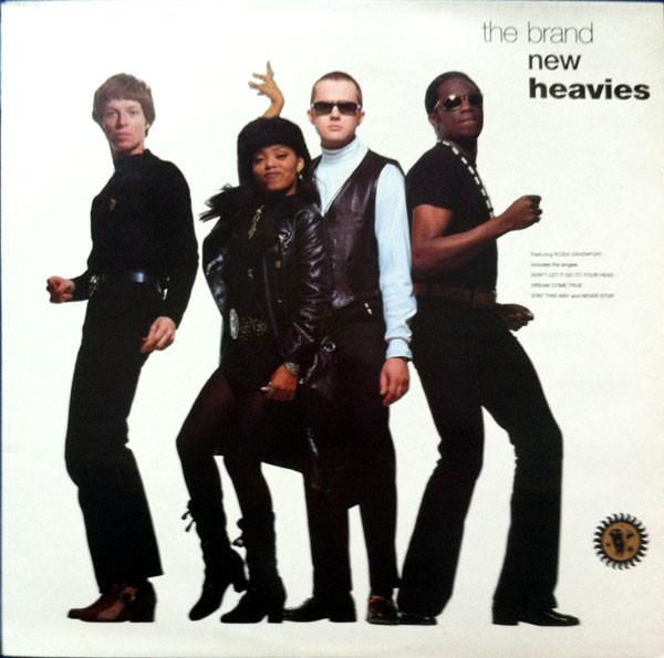 THE BRAND NEW HEAVIES - The Brand New Heavies (1992) cover
