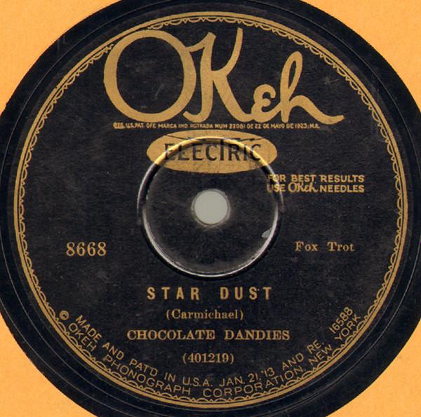 THE CHOCOLATE DANDIES - Star Dust / Birmingham Break-Down cover