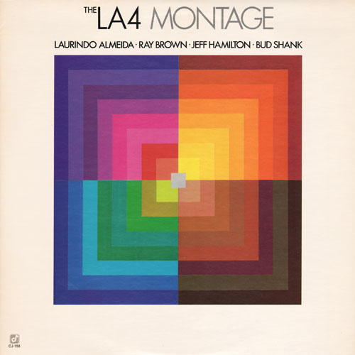 THE L.A. FOUR - Montage cover
