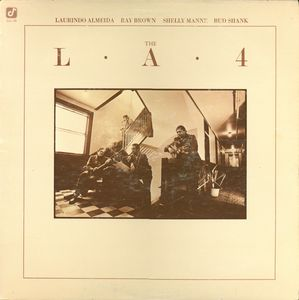 THE L.A. FOUR - The L.A.4 cover