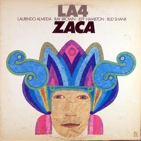 THE L.A. FOUR - Zaca cover