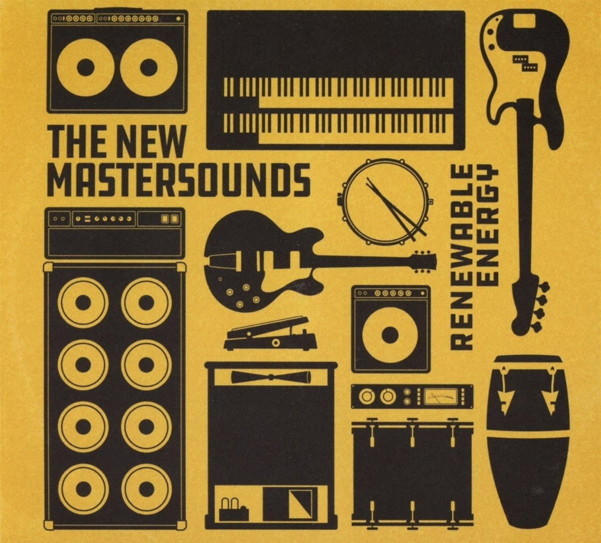 THE NEW MASTERSOUNDS - Renewable Energy cover