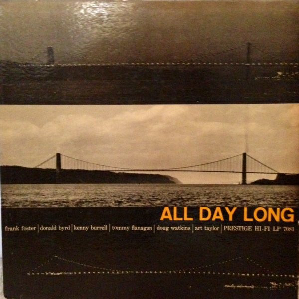 THE PRESTIGE ALL STARS - All Day Long cover