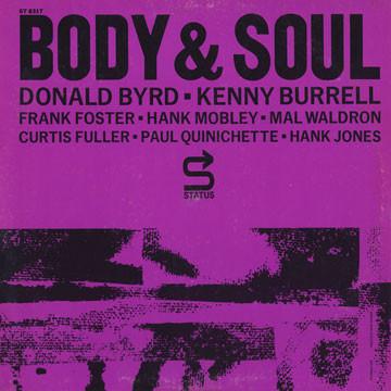 THE PRESTIGE ALL STARS - Donald Byrd · Kenny Burrell · Frank Foster · Hank Mobley · Mal Waldron · Curtis Fuller · Paul Quinichette · Hank Jones : Body & Soul cover