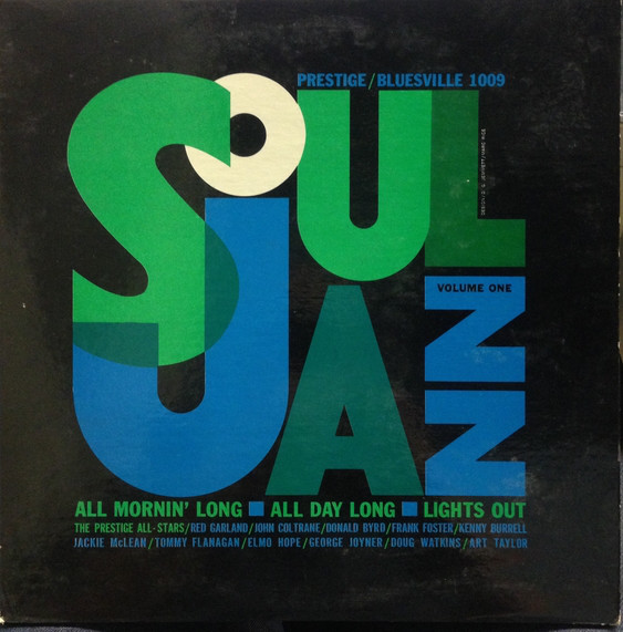 THE PRESTIGE ALL STARS - Soul Jazz Volume One cover