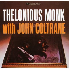 THELONIOUS MONK - Thelonious Monk With John Coltrane cover