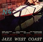 10000 VARIOUS ARTISTS Jazz West Coast Volume N° 4 album cover