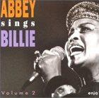 ABBEY LINCOLN Abbey Sings Billie, Volume 2 album cover