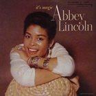 ABBEY LINCOLN It's Magic album cover