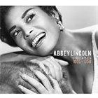 ABBEY LINCOLN The Complete 1956-1958 album cover