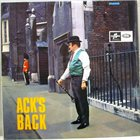 ACKER BILK Ack's Back album cover