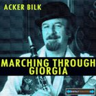 ACKER BILK Marching Through Georgia album cover