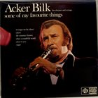 ACKER BILK Some Of My Favourite Things album cover