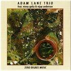ADAM LANE Adam Lane Trio : Zero Degree Music album cover