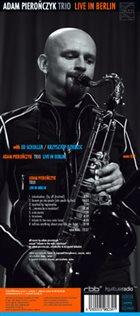 ADAM PIEROŃCZYK Live In Berlin album cover