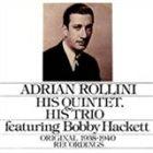ADRIAN ROLLINI His Quintet, His Trio album cover