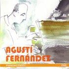 AGUSTÍ FERNÁNDEZ Pianoactivity   One album cover
