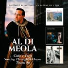 AL DI MEOLA Cielo e Terra/Soaring Through A Dream/Tirami Su album cover